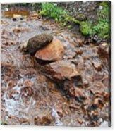 Rushing Waters 2 Acrylic Print
