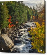 Rushing Waters Acrylic Print