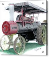 Russell Steam Tractor Acrylic Print