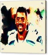 Russell Wilson 02b Acrylic Print