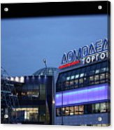 Russia Moscow City Lights 02 Acrylic Print