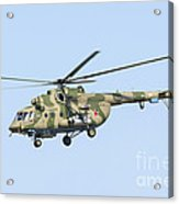 Russian Air Force Mi-171sh Helicopter Acrylic Print