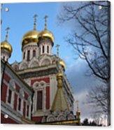 Russian Church Acrylic Print