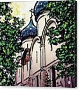 Russian Church Acrylic Print