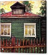 Russian House 2 Acrylic Print