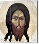 Russian Icon: The Savior Acrylic Print