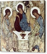 Russian Icons: The Trinity Acrylic Print