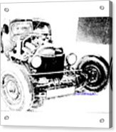 Russian Rat Rod Acrylic Print