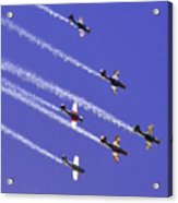 Russian Roolettes And Blue Sky Acrylic Print