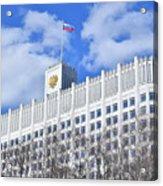 Russian White House Acrylic Print