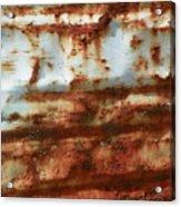 Rust 22 Acrylic Print