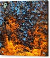 Rust Abstract 3 Acrylic Print