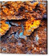 Rust Abstract 9 Acrylic Print