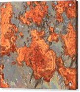 Rust Art Acrylic Print