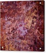 Rust Autumn Acrylic Print
