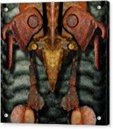 Rust Bone Totem Acrylic Print