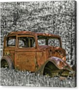 Rust In Peace Acrylic Print