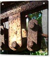 Rust Acrylic Print