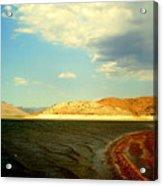 Rust Lake Acrylic Print