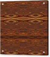 Rust Tiled Acrylic Print