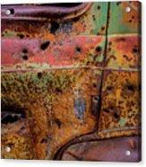 Rusted Beauty Acrylic Print