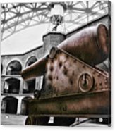 Rusted Cannon Acrylic Print