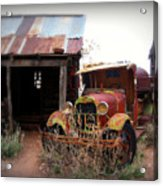 Rusted Classic Acrylic Print