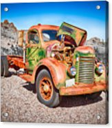 Rusted Classics - The International Acrylic Print