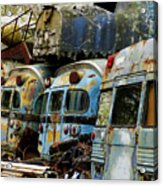 Rusted Series Acrylic Print