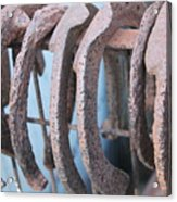 Rusted Shoes Acrylic Print