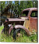Rusted Truck Acrylic Print