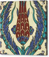 Rusten Pasha Tulip Tile Acrylic Print