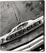 Rustic Chevrolet Acrylic Print