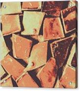 Rustic Choc Block Acrylic Print