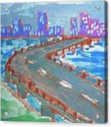 Rustic-city Acrylic Print