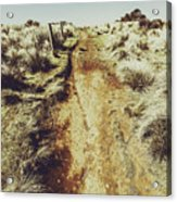 Rustic Country Trails Acrylic Print