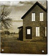 Rustic County Farm House Acrylic Print