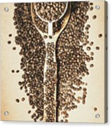 Rustic Drinks Artwork Acrylic Print