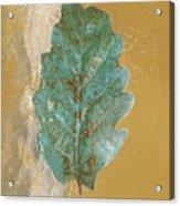 Rustic Leaf Acrylic Print
