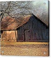 Rustic Midwest Barn Acrylic Print
