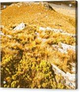 Rustic Mountain Terrain Acrylic Print