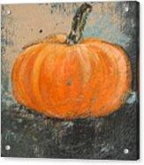Rustic Pumpkin Acrylic Print