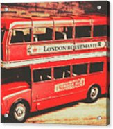 Rustic Routemaster Acrylic Print