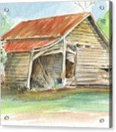 Rustic Southern Barn Acrylic Print