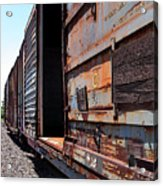 Rustic Train Acrylic Print