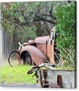 Rustic Truck Acrylic Print