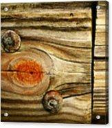 Rustic Wood Acrylic Print