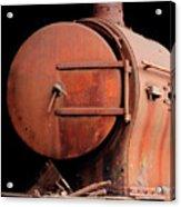 Rusty Abandoned Steam Locomotive Acrylic Print