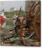 Rusty Anchors-2 Acrylic Print