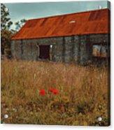 Rusty Barn Acrylic Print
